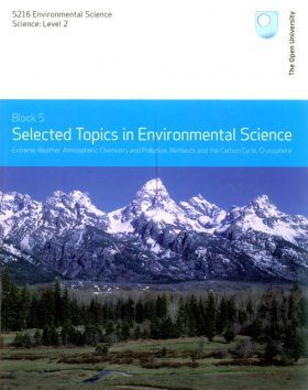 Selected Topics in Environmental Science, Topics 1-4