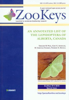 ZooKeys 38: An Annotated List of the Lepidoptera of Alberta, Canada
