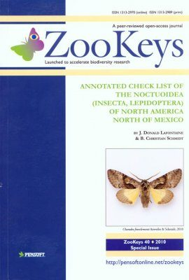 ZooKeys 40: Annotated Check List of the Noctuoidea (Insecta, Lepidoptera) of North America North of Mexico