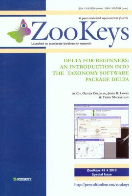 ZooKeys 45: DELTA for Beginners: An Introduction into the Taxonomy Software Package DELTA