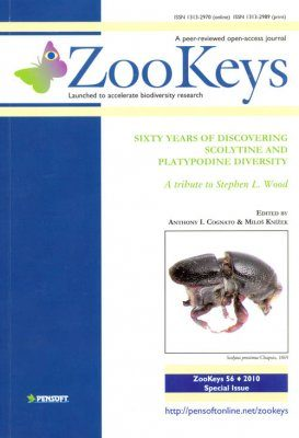 ZooKeys 56: Sixty years of Discovering Scolytine and Platypodine Diversity - A Tribute to Stephen L Wood