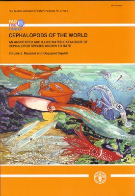 Cephalopods of the World, Volume 2: Myopsid and Oegopsid Squids