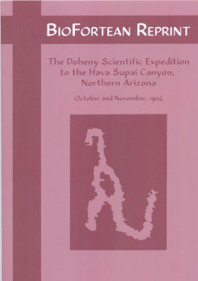 The Doheny Scientific Expedition to the Hava Supai Canyon
