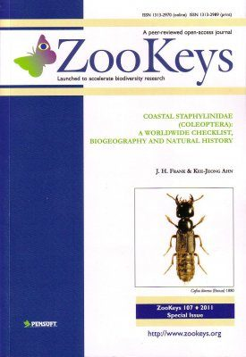 ZooKeys 107: Coastal Staphylinidae (Coleoptera): A Worldwide Checklist, Biogeography and Natural History