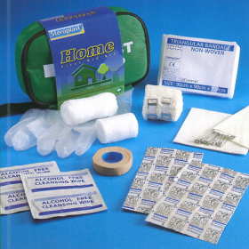Home and Travel First Aid Kit Bag