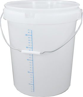 30l Bucket And Lid With Measurement Scale Nhbs Wildlife
