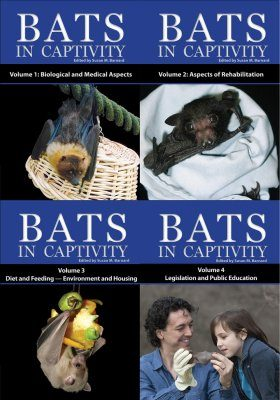Bats in Captivity (4-Volume Set)