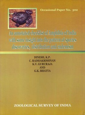 An Annotated Checklist of Amphibia of India with Some Insights into the Patterns of Species Discoveries, Distribution and Endemism