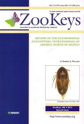 ZooKeys 188: Review of the Eustrophinae (Coleoptera, Tetratomidae) of America north of Mexico