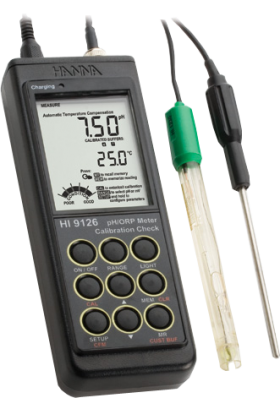 Hanna HI-9126N Portable pH Meter