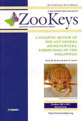 ZooKeys 200: A sYnoptic Review of the Ant Genera (Hymenoptera, Formicidae) of the Philippines