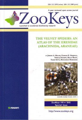 ZooKeys 195: The Velvet Spiders: An Atlas of the Eresidae (Arachnida, Araneae)