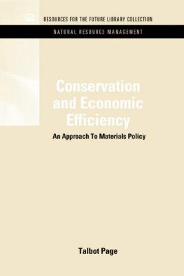 Conservation and Economic Efficiency