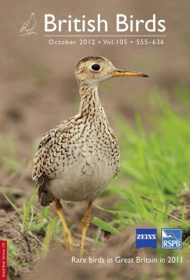 British Birds Report on Rare Birds in Great Britain in 2011