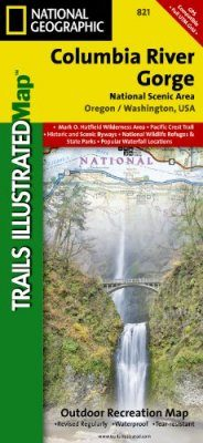 Washington State: Map for Columbia River Gorge National Scenic Area