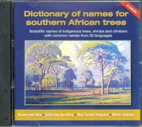 Dictionary of Names for Southern African Trees CD-ROM