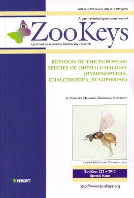 ZooKeys 232: Revision of the European species of Omphale Haliday (Hymenoptera, Chalcidoidea, Eulophidae)