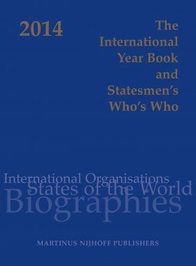 The International Year Book and Statesmen's Who's Who 2014