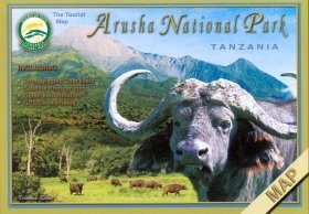 Arusha National Park, Tanzania: The Tourist Map