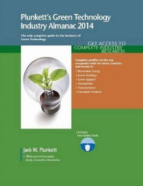 Plunkett's Green Technology Industry Almanac 2014