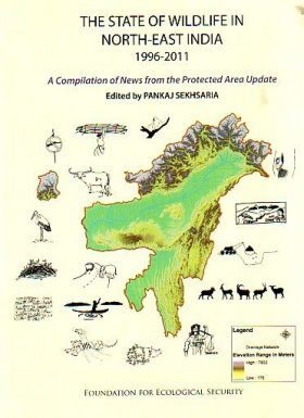 The State of Wildlife in North-East India 1996-2011