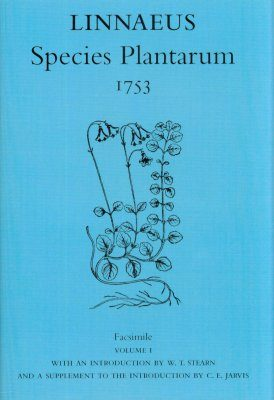 Species Plantarum 1753 Facsimile (2-Volume Set)