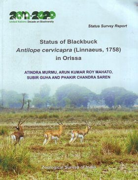 Status of Blackbuck Antilope cervicapra (Linnaeus, 1758) in Orissa