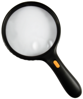 Jumbo Magnifier with LEDs