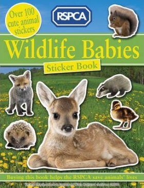 RSPCA Wildlife Babies Sticker Book