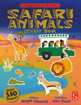 The Scribblers Fun Activity Safari Sticker Book