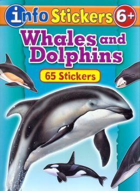 Info Stickers: Whales and Dolphins