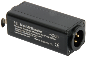 FEL Mini MicBooster Microphone Preamplifier
