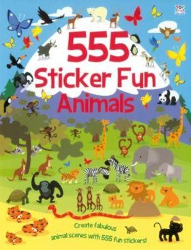 555 Sticker Fun: Animals