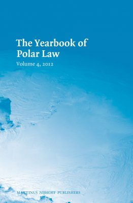 The Yearbook of Polar Law, Volume 4