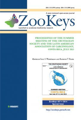 ZooKeys 457: Proceedings of the Summer Meeting of the Crustacean Society and the Latin American Association of Carcinology, Costa Rica, July 2013