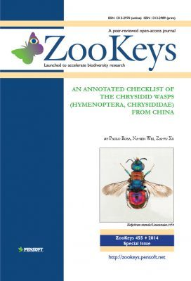 ZooKeys 455: An Anotated Checklist of the Chrysidid Wasps (Hymenoptera, Chrysididae) from China