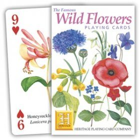 Wild Flower Playing Cards
