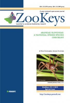 ZooKeys 474: Araneae Sloveniae: A National Spider Species Checklist