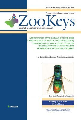 ZooKeys 486: Annotated Type Catalogue of the Chrysididae (Insecta, Hymenoptera) Deposited in the Collection of Radoszkowski in the Polish Academy of Sciences, Kraków
