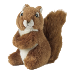 Red Squirrel Soft Toy