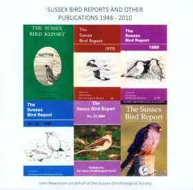 Sussex Bird Reports and other Publications 1948-2010 (DVD-ROM)