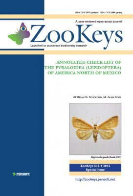 ZooKeys 535: Annotated Check List of the Pyraloidea (Lepidoptera) of America North of Mexico