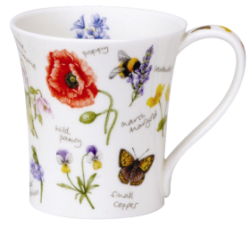 Bees and Butterflies Mug