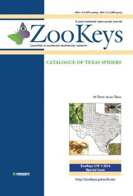 ZooKeys 570: Catalogue of Texas spiders
