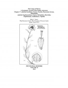 The Comps of Mexico: A Systematic Account of the Family Asteraceae, Chapter 17