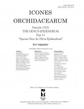 Icones Orchidacearum, Fascicle 15(2)
