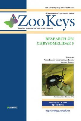 ZooKeys 547: Research on Chrysomelidae, Volume 5