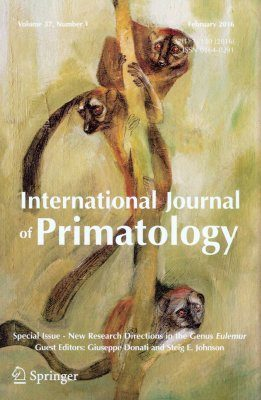 International Journal of Primatology Volume 37(1): New Research Directions in the Genus Eulemur