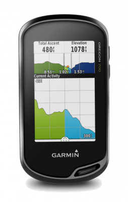 Garmin Oregon 700 with 1:50k GB Discoverer Mapping Software