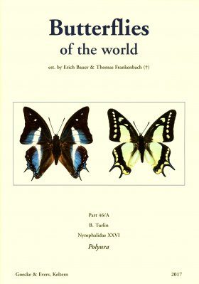 Butterflies of the World, Part 46: Nymphalidae XXVI: The Genus Polyura (2-Volume Set)